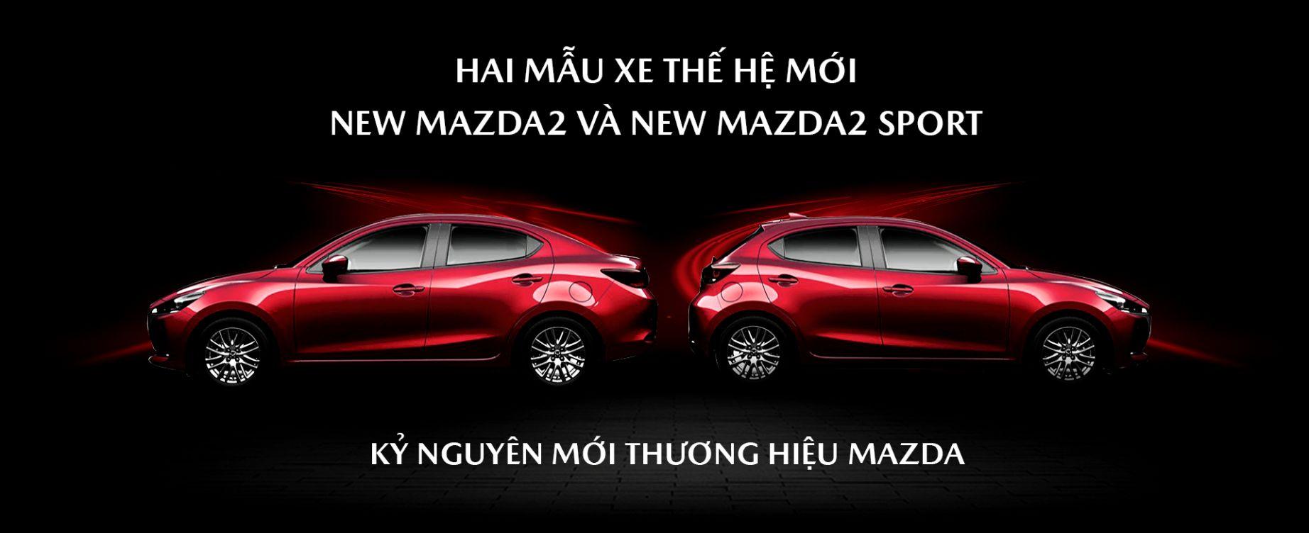 THACO chính thức giới thiệu hai mẫu xe New Mazda2 và New Mazda2 Sport